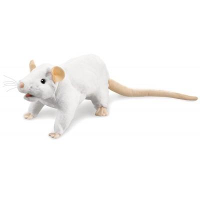 Weiße Ratte - Folkmanis