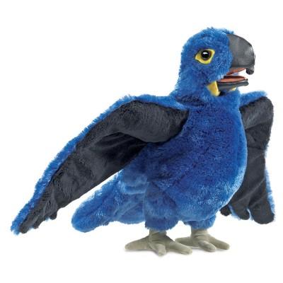 Blauer Papagei - Folkmanis