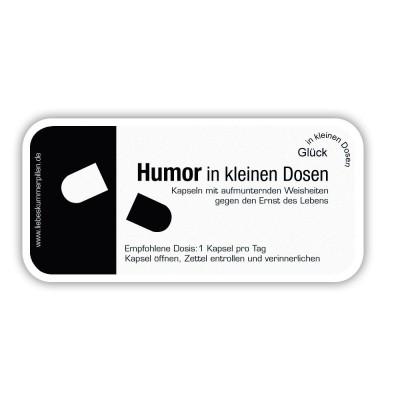 Humor in kleinen Dosen