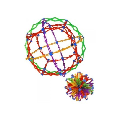 "Hoberman Mini Sphere ""Rings"""