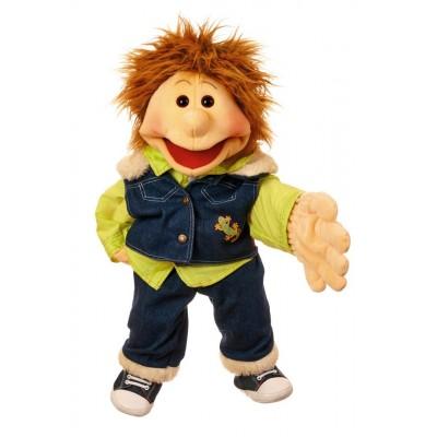 Gerrit, Junge mit Jeansweste - Living Puppets
