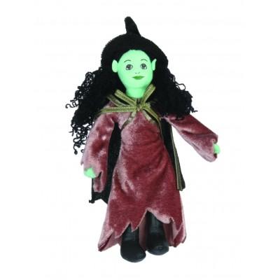 Hexe (grün) - Fingerpuppe (REST)