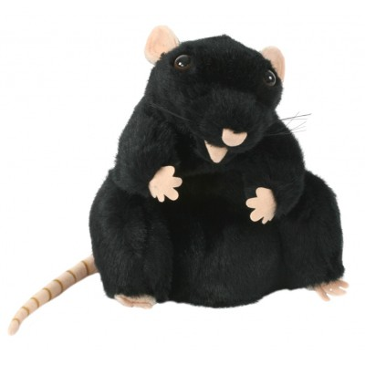 Rat (Black) - Puppet Company (REST)