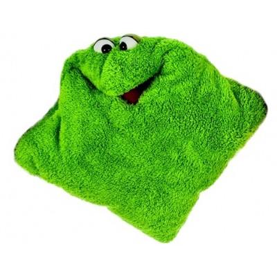 Kissen grün - Living Puppets