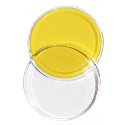 Stempelkissen 9 cm gelb