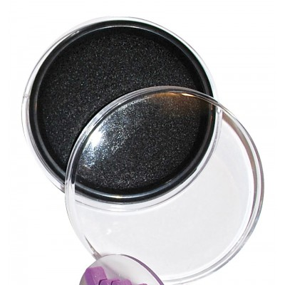 Stempelkissen 9 cm schwarz