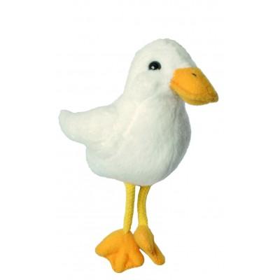 Ente (weiß) - Fingerpuppe (REST)