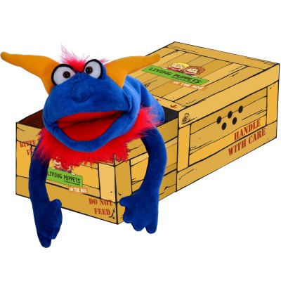 Crazy Blue - Living Puppets in the box