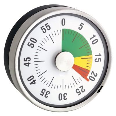 Zeitdauer-Uhr Automatik Kompakt mit Magnet und Ampelscheibe