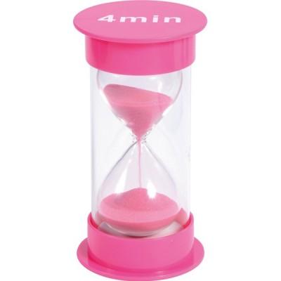 Sanduhr 4 Min. rosa