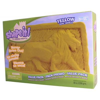 ShapeIt! Sand - gelb