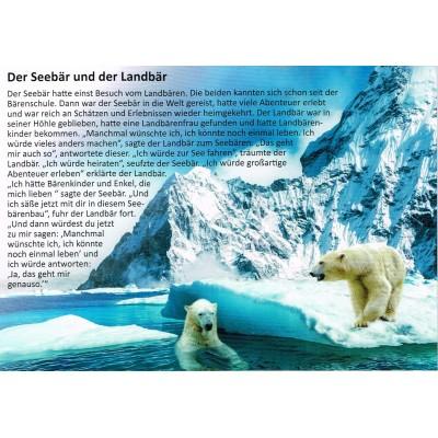 Der Seebär und der Landbär - Geschichtenkarte