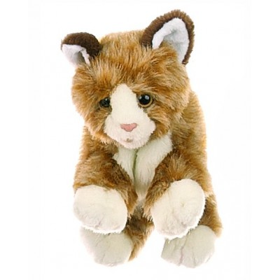 Braune Katze - Living Puppets