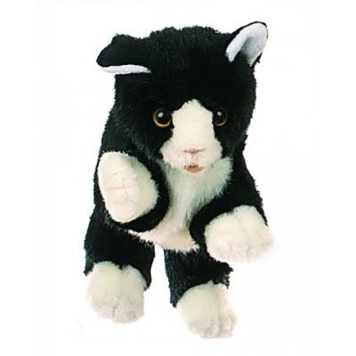 Schwarz-weiße Katze - Living Puppets