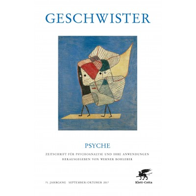 Geschwister - PSYCHE Doppelheft 9/10 2017
