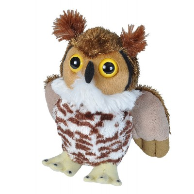 Hug'ems Great Horn Owl - Wild Republic