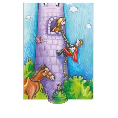 Lebende Karte - Rapunzel