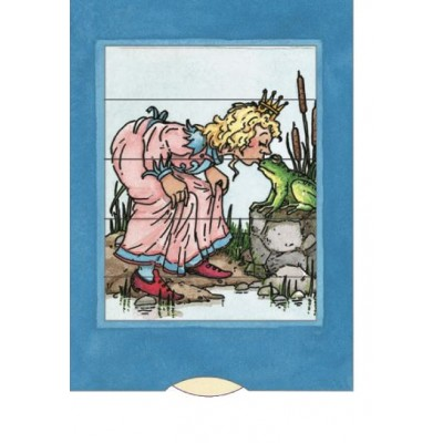 Lebende Karte - Froschkönig