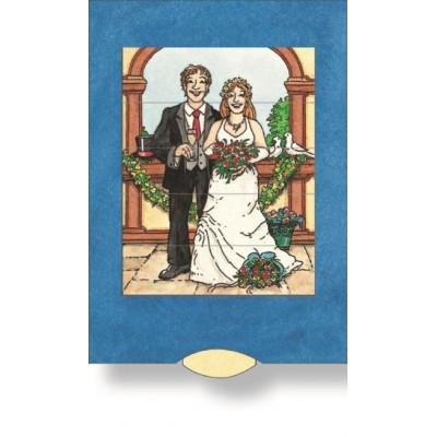 Lebende Karte - Hochzeit
