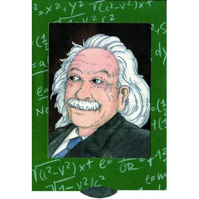 Lebende Karte - Albert Einstein