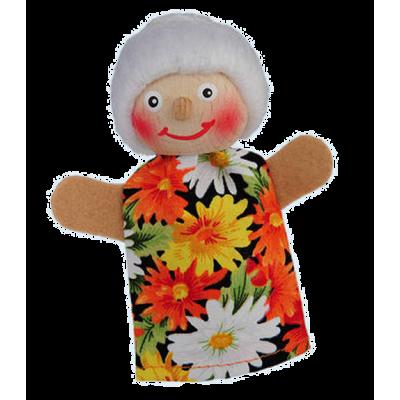 Oma - Fingerpuppe