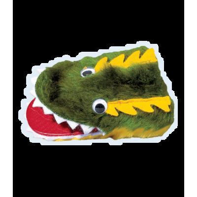 Krokodil -  Fingerpuppe
