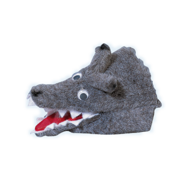 Wolf -  Fingerpuppe