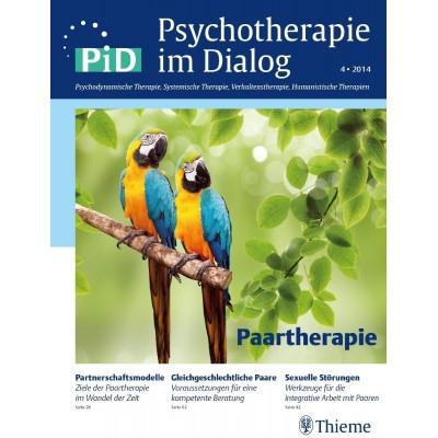 Psychotherapie im Dialog - Paartherapie