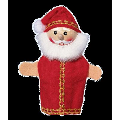 Weihnachtsmann - Fingerpuppe