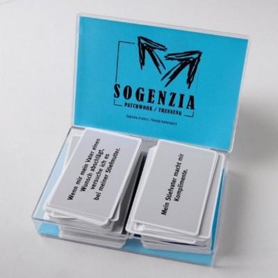 Sogenzia-Karten Patchwork / Trennung
