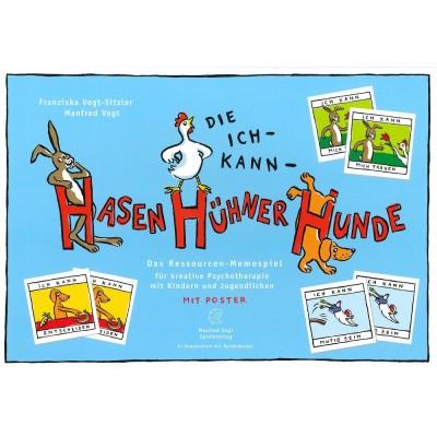 Das Ich-Kann-Hasen-Hühner-Hunde - Manfred Vogt Spieleverlag