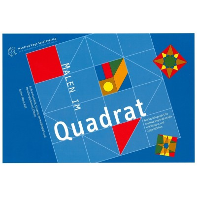 Malen im Quadrat  - Manfred Vogt Spieleverlag