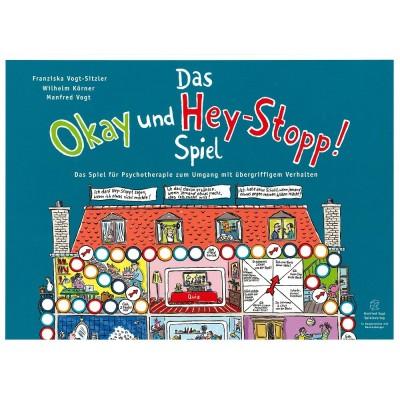 Das Okay-und-Hey-Stopp! Spiel - Manfed Vogt Spieleverlag