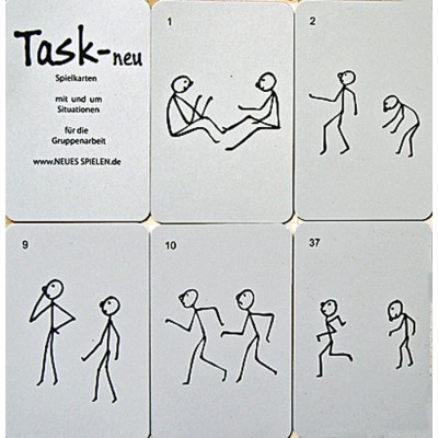 Mimürfel Spielkarten - Task neu