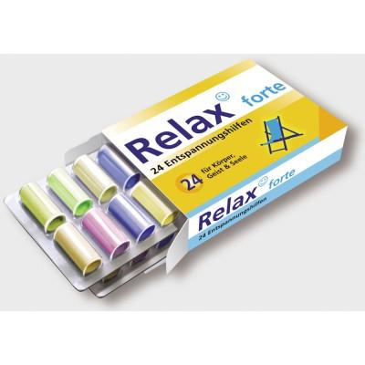 Relax forte - 24 Entspannungshilfen für Körper, Geist und...