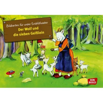 Der Wolf und die sieben Geißlein - Kamishibai Bildkartenset