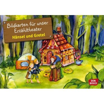 Hänsel und Gretel - Kamishibai Bildkartenset