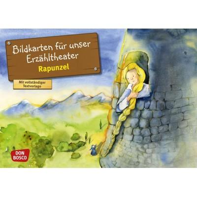 Rapunzel - Kamishibai Bildkartenset