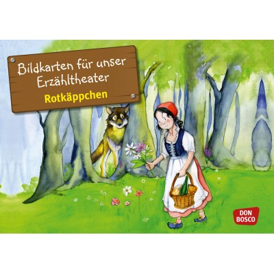Rotkäppchen - Kamishibai Bildkartenset