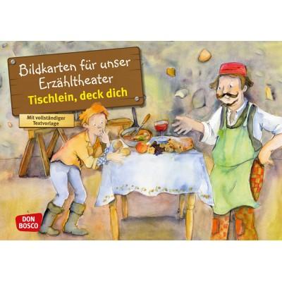 Tischlein, deck dich - Kamishibai Bildkartenset