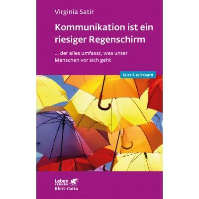 Kommunikation ist ein riesiger Regenschirm