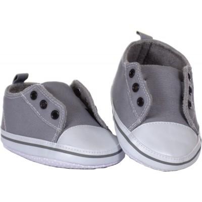 Schuhe grau (für 65 cm)