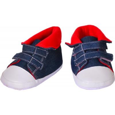Schuhe blau/rot (für 65 cm)