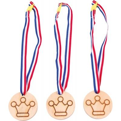 Medaille Krone, 3er Set