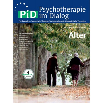 Psychotherapie im Dialog - Alter