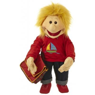Lasse, Junge mit Schultasche - Living Puppets