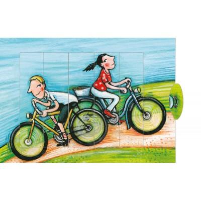 Lebende Karte - Fahrrad