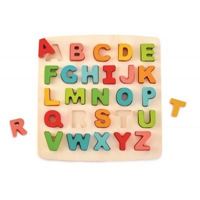 Puzzle mit Großbuchstaben