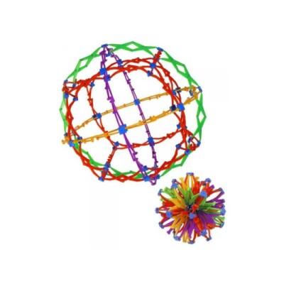 "Ausstellungsexemplar - Hoberman Mini Sphere ""Rings"""