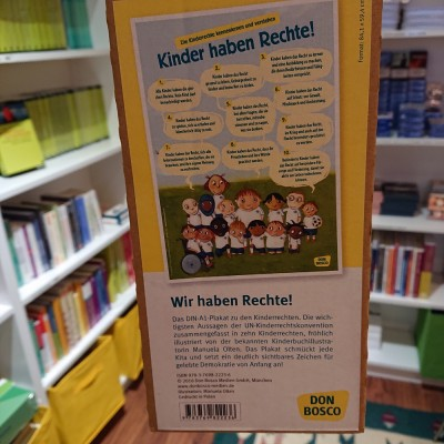 Kinder haben Rechte - DIN A1 Poster (REST)